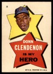 1967 Topps Pirates Stickers #30   -  Donn Clendenon My Hero Front Thumbnail
