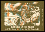 1963 Topps Astronauts 3D #2   Floating Astronauts Back Thumbnail
