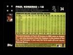 2007 Topps #34  Paul Konerko  Back Thumbnail