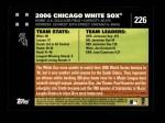 2007 Topps #226   Chicago Back Thumbnail