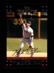 2007 Topps #309   -  Mark Teixeira Golden Glove Front Thumbnail