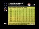 2007 Topps #371  Kenny Lofton  Back Thumbnail