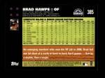 2007 Topps #385  Brad Hawpe  Back Thumbnail