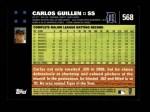 2007 Topps #568  Carlos Guillen  Back Thumbnail