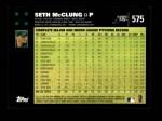 2007 Topps #575  Seth McClung  Back Thumbnail