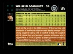 2007 Topps #585  Willie Bloomquist  Back Thumbnail
