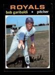 1971 Topps #701  Bob Garibaldi  Front Thumbnail