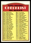 1972 Topps #604 L  Checklist 6 Front Thumbnail