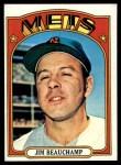 1972 Topps #594  Jim Beauchamp  Front Thumbnail