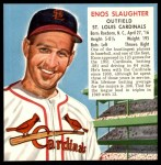 1952 Red Man #20 NL x Enos Slaughter  Front Thumbnail