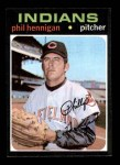 1971 Topps #211  Phil Hennigan  Front Thumbnail