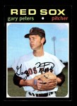 1971 Topps #225  Gary Peters  Front Thumbnail
