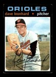 1971 Topps #716  Dave Leonhard  Front Thumbnail