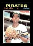 1971 Topps #2  Dock Ellis  Front Thumbnail