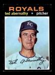 1971 Topps #187  Ted Abernathy  Front Thumbnail