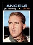 1971 Topps #645  Jim Maloney  Front Thumbnail