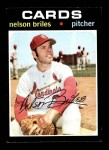 1971 Topps #257  Nelson Briles  Front Thumbnail