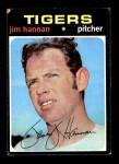 1971 Topps #229  Jim Hannan  Front Thumbnail