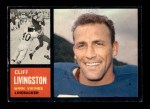 1962 Topps #99  Cliff Livingston  Front Thumbnail