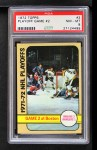 1972 Topps #3   NHL Playoff Game 2 Front Thumbnail