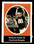 1972 Sunoco Stamps  Bruce Coslet  Front Thumbnail