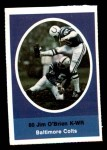 1972 Sunoco Stamps  Jim O'Brien  Front Thumbnail