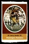 1972 Sunoco Stamps  Jerry Smith  Front Thumbnail