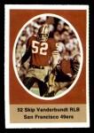 1972 Sunoco Stamps  Skip Vanderbundt  Front Thumbnail