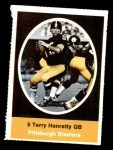 1972 Sunoco Stamps  Terry Hanratty  Front Thumbnail