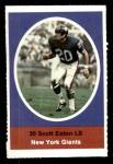 1972 Sunoco Stamps  Scott Eaton  Front Thumbnail