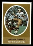 1972 Sunoco Stamps  Charlie Durkee  Front Thumbnail