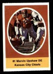 1972 Sunoco Stamps  Marvin Upshaw  Front Thumbnail