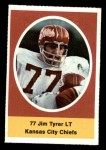1972 Sunoco Stamps  Jim Tyrer  Front Thumbnail