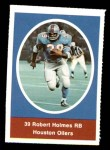 1972 Sunoco Stamps  Robert Holmes  Front Thumbnail