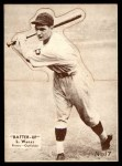 1934 Batter Up #17  Lloyd Waner   Front Thumbnail