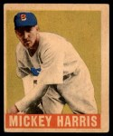 1948 Leaf #27  Mickey Harris  Front Thumbnail