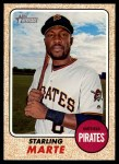 2017 Topps Heritage #459  Starling Marte  Front Thumbnail