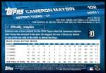 2017 Topps #102  Cameron Maybin  Back Thumbnail