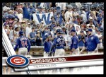 2017 Topps #72   Cubs Team Front Thumbnail