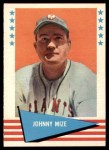 1961 Fleer #63  Johnny Mize  Front Thumbnail