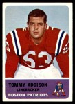1962 Fleer #9   Tommy Addison  Front Thumbnail