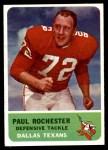 1962 Fleer #33  Paul Rochester  Front Thumbnail
