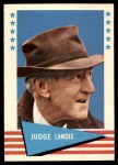 1961 Fleer #53  Judge Landis  Front Thumbnail