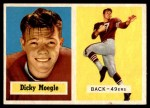 1957 Topps #116  Dick Moegle  Front Thumbnail