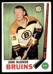 1969 Topps #28  John McKenzie  Front Thumbnail