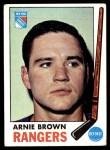 1969 Topps #34  Arnie Brown  Front Thumbnail