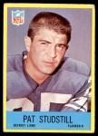 1967 Philadelphia #70  Pat Studstill  Front Thumbnail
