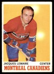 1970 Topps #57  Jacques Lemaire  Front Thumbnail