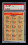 1956 Topps   Checklist 1/3 Front Thumbnail