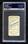 1909 T206 BAT George McQuillan  Back Thumbnail